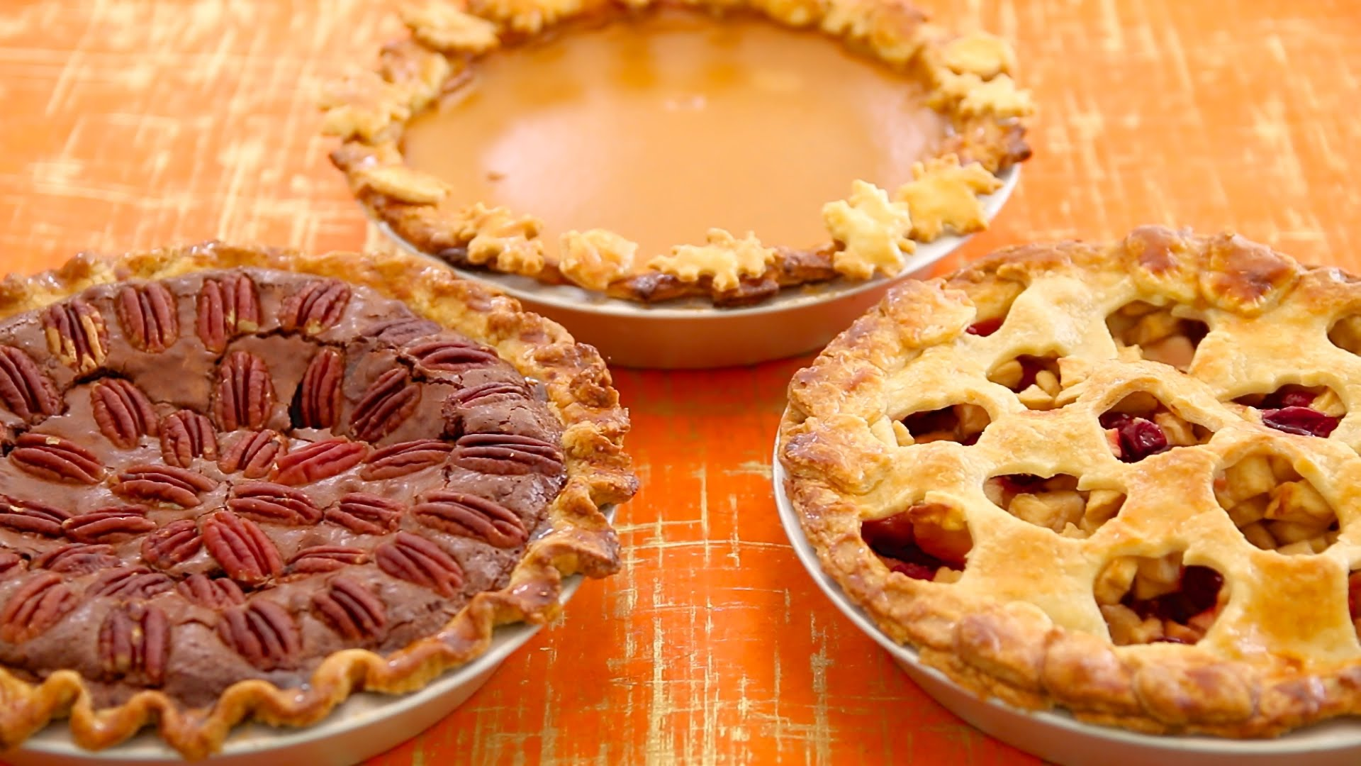 Wonderful Thanksgiving Dessert For These 3 Homemade Pie Recipes , Pumpkin, Apple And Pecan