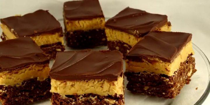 Yummy Peanut Butter Nanaimo Bars Recipe