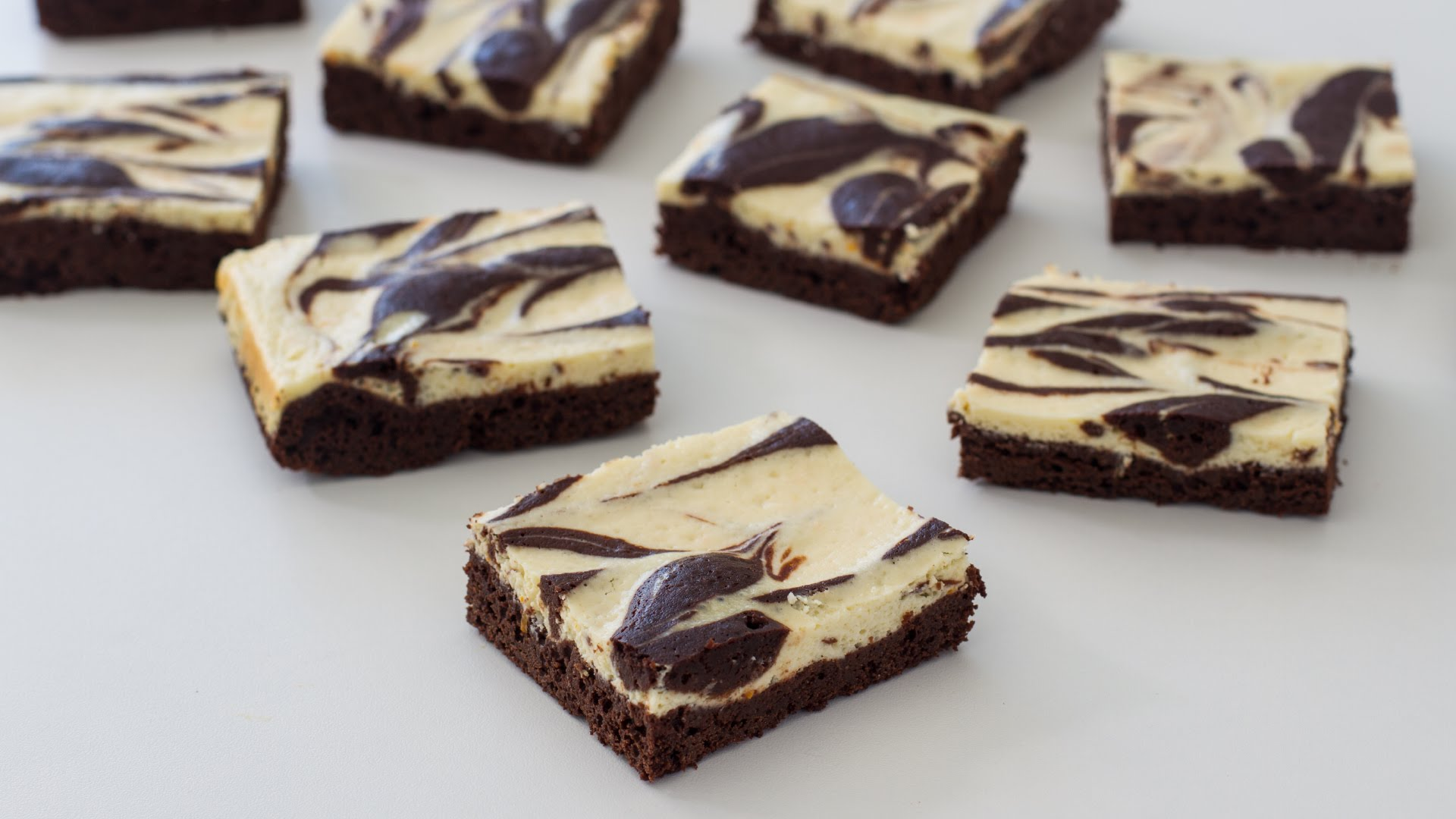 A Really Yummy Cream Cheese Marbled Brownies Recipe