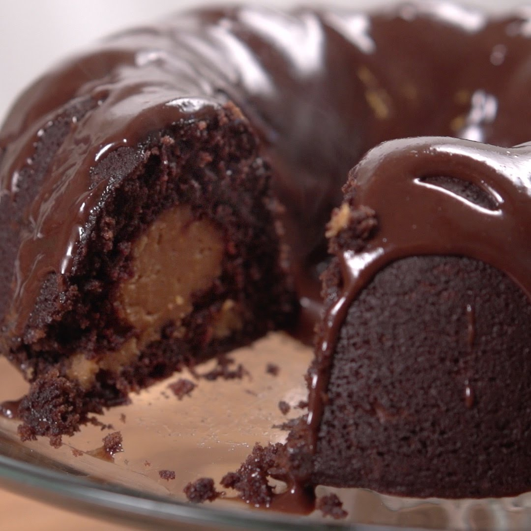 Box Chocolate Bundt Cake