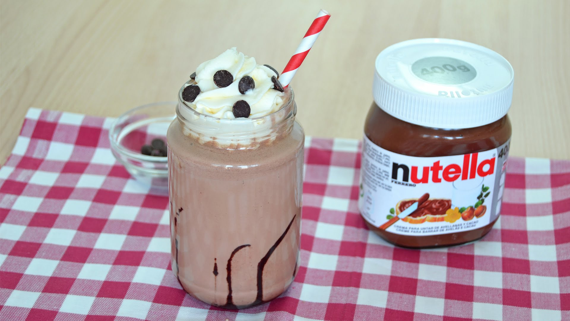 How To Make A Nutella Chocolate Milkshake