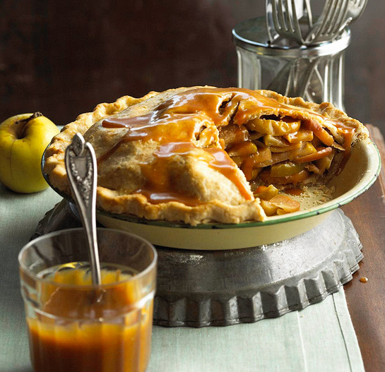 Yummy mile high caramel apple pie - Better homes and gardens apple pie recipe ...