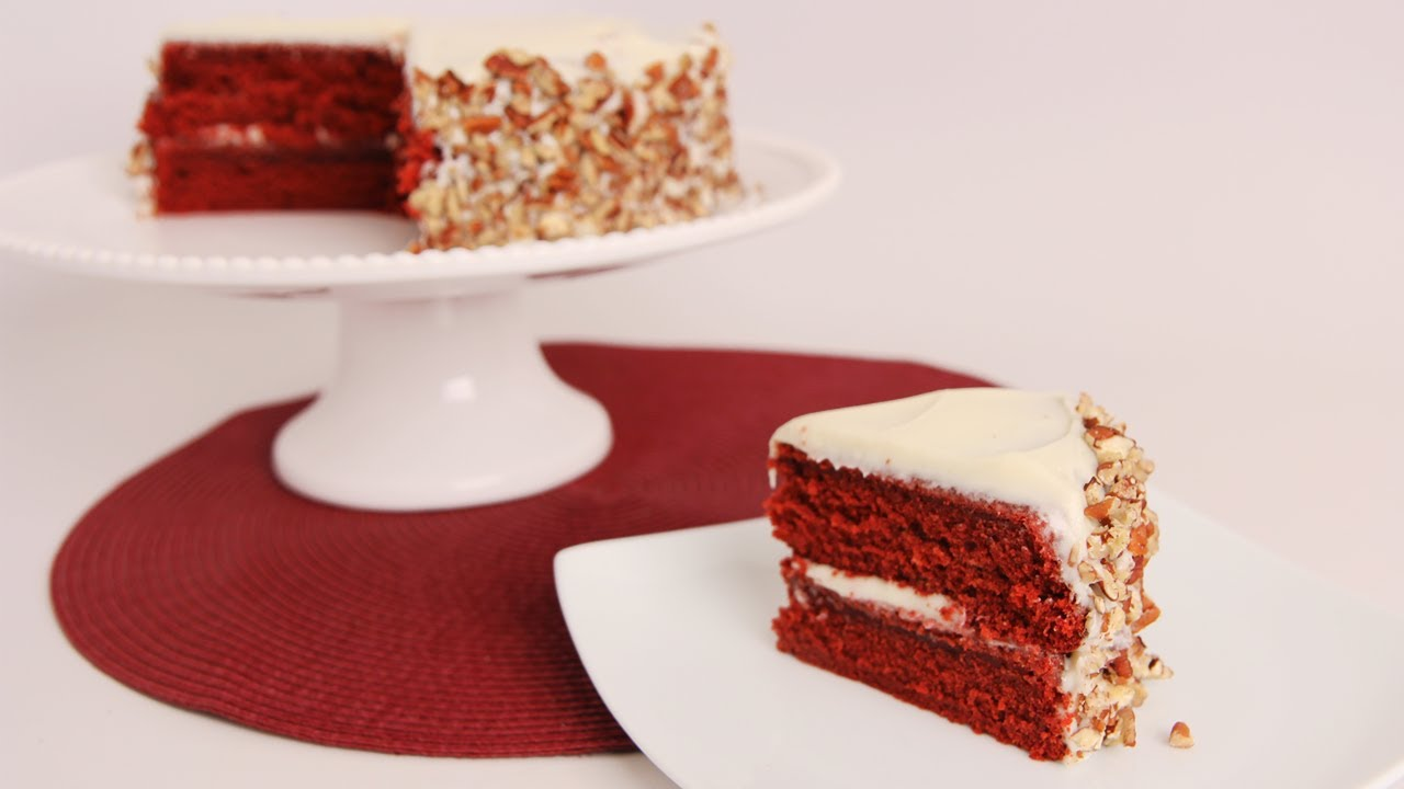 Red And Black Cake Recipe