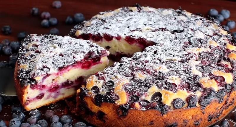 Blueberry Lemon Cake Natashas Kitchen