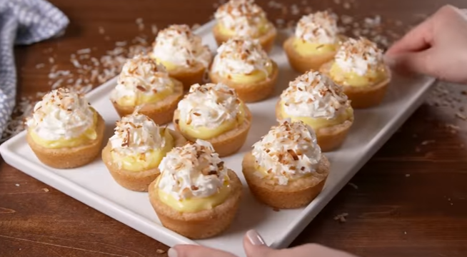 Coconut Cream Cups