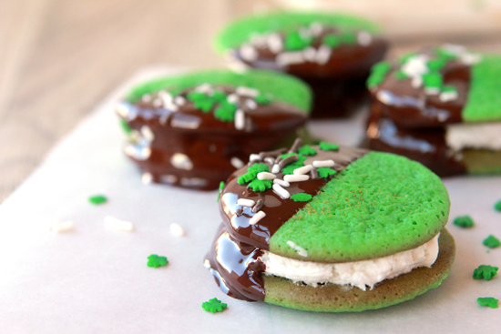 St. Patrick's Day Cookie Bites