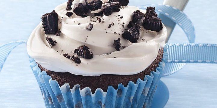 Oreo Cookies & Cream Cupcakes