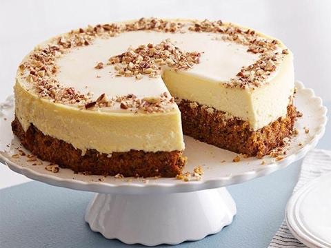 Carrot Cake-Cheesecake
