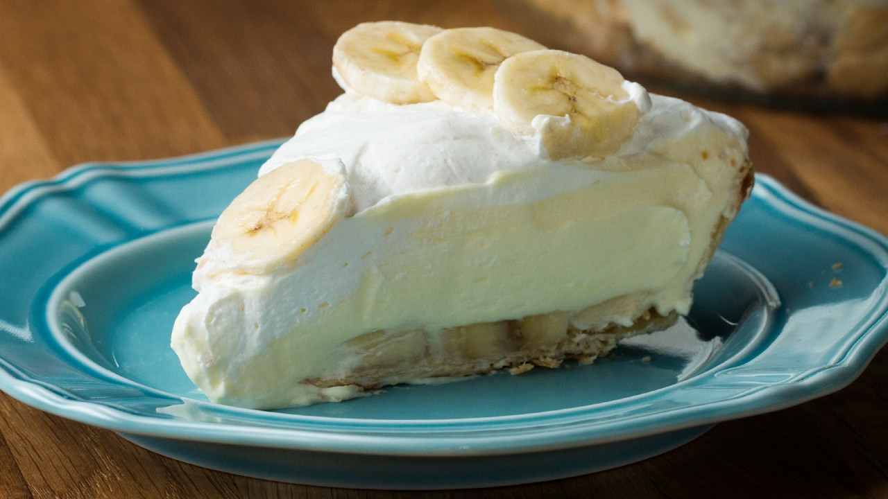 Yummy Easy Banana Cream Pie