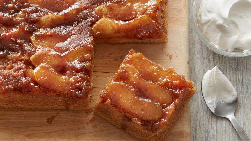 Caramel Cake Recipe Joy Of Baking: Yummy Caramel Apple Upside-Down Cake