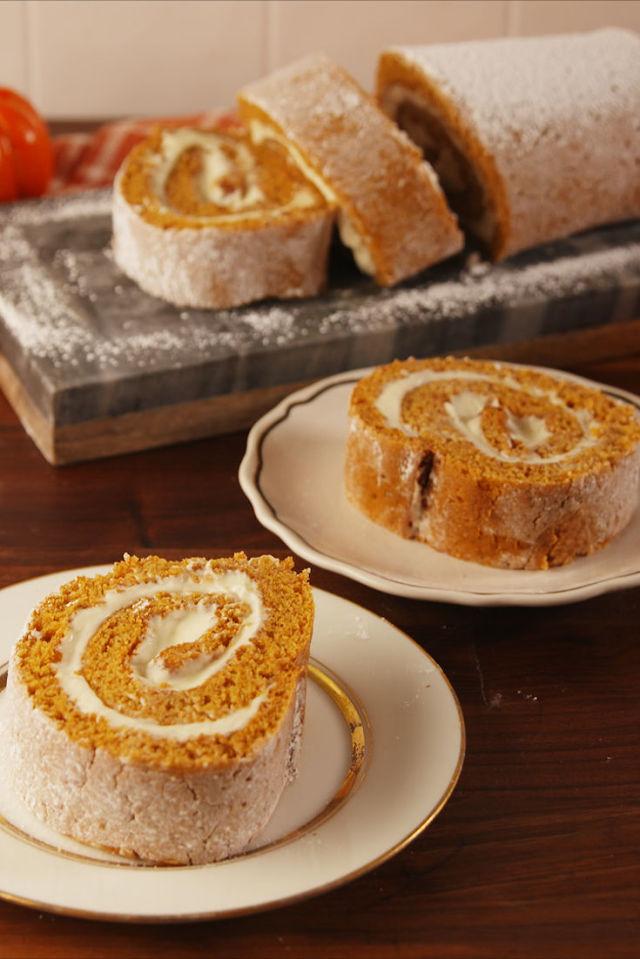 Diabetic Pumpkin Roll Cake Recipe