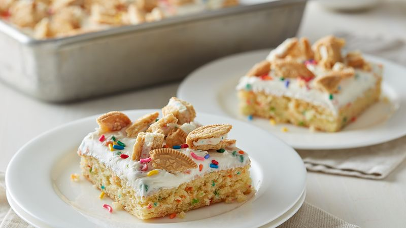 rainbow chip cake fast and easy rainbow chip dump cake 6946