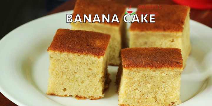 Banana Cake Recipe A Go For The Weekend