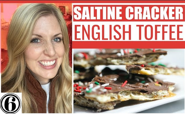 Saltine Cracker English Toffee