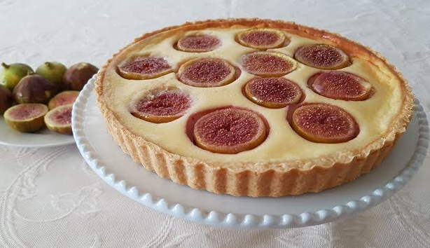 Fig and Cream Cheese Tart