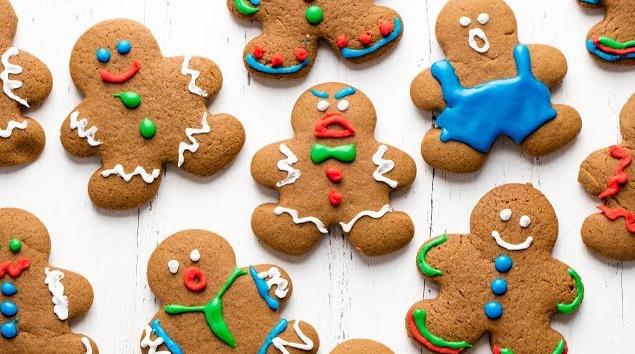 Make Gingerbread Cookies