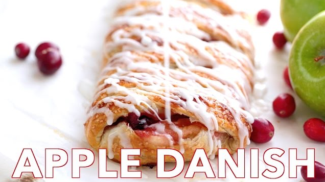 Apple Braided Danish
