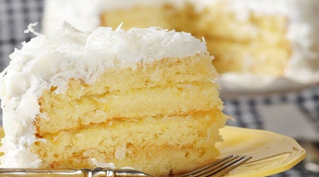 Super Moist & Delicious Coconut Cake Recipe