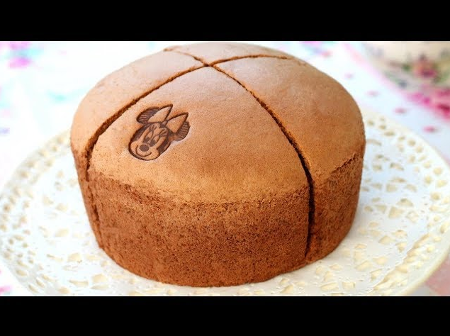 Why Don't You Try This Yummy Japanese Cotton Chocolate Sponge Cake