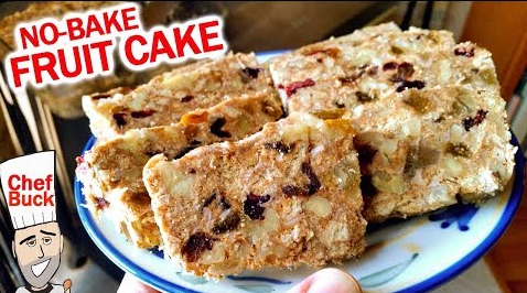 For Those Of You That Don't Like Fruitcake-Try This No-Bake Holiday Fruit Cake Recipe