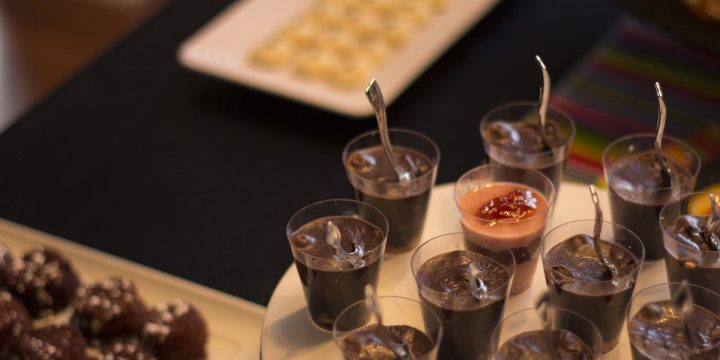 Dark Chocolate Mousse Shots Recipe