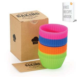 NY Baking Co. Silicone Baking Cups