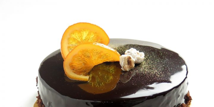 Dark Chocolate Orange Cake Recipe