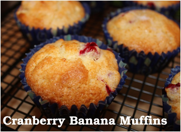 Enjoy This Cranberry Banana Muffins Recipe