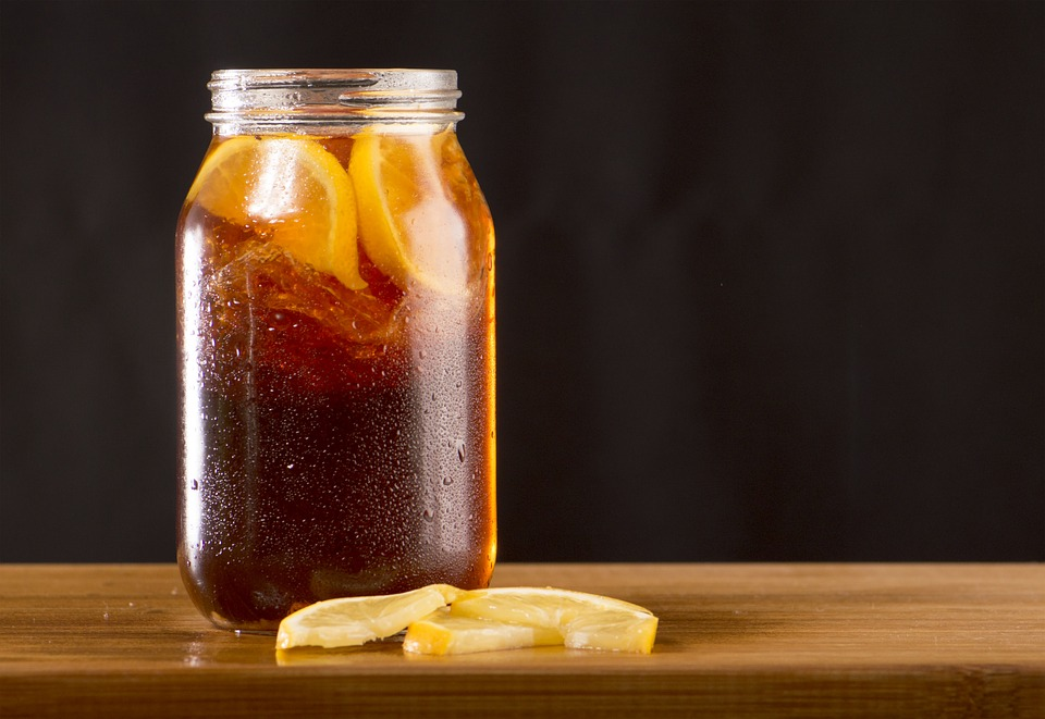 Homemade Sweet Lemon Iced Tea