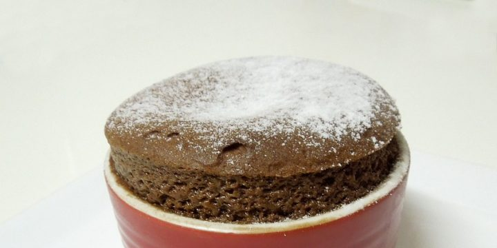 Low-Carb Chocolate Soufflé Recipe