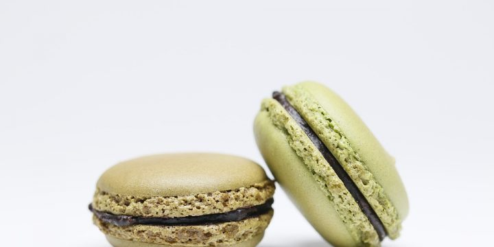 Matcha Macarons With Chocolate Ganache Recipe