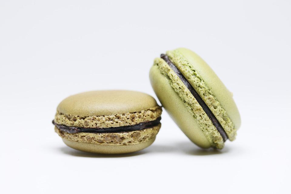 Matcha Macarons With Chocolate Ganache Recipe