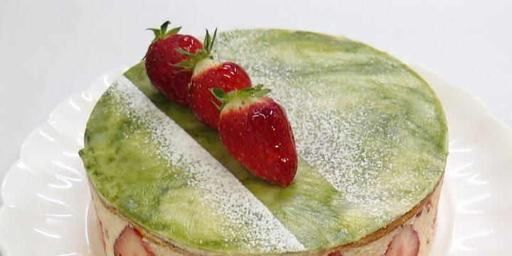 Matcha Strawberry Shortcake Recipe