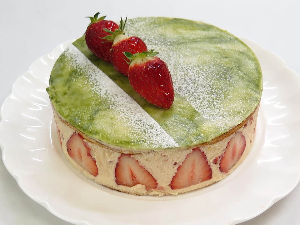 Matcha Strawberry Shortcake Recipe