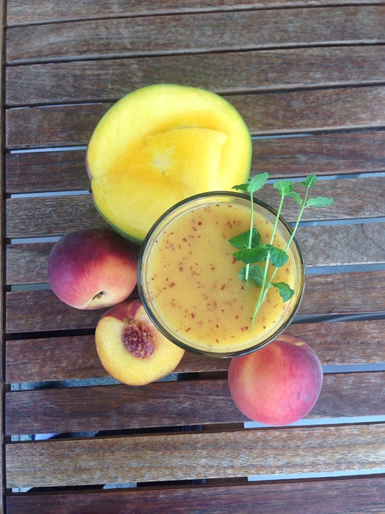 Peach Mango Smoothie Recipe