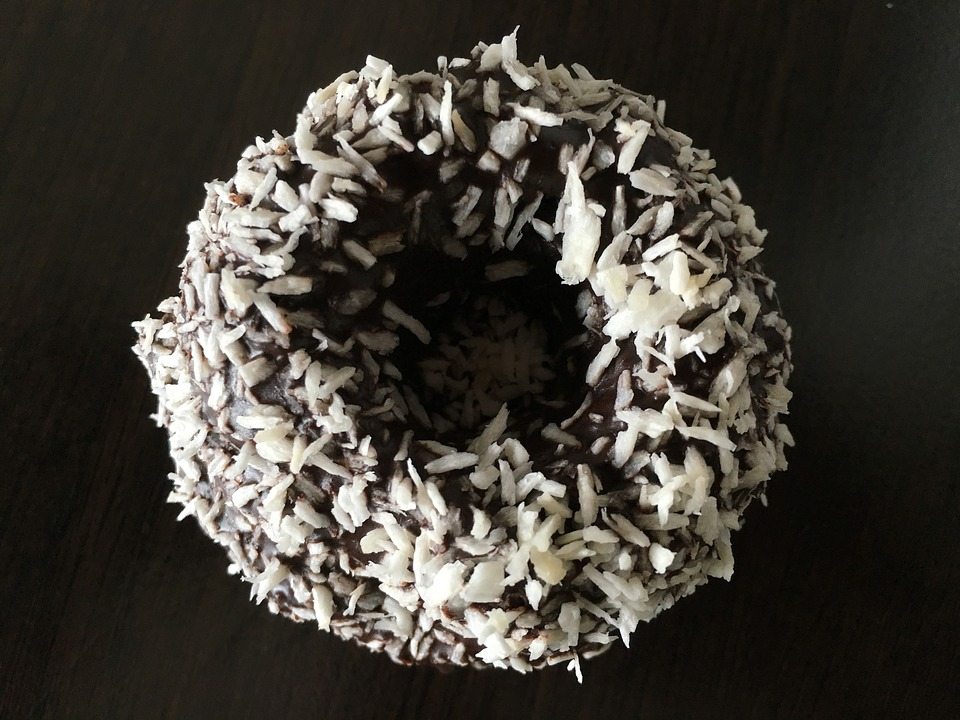 Coconut Chocolate Donut Recipe
