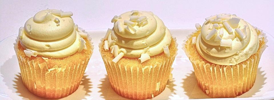 Lemon and White Chocolate Cupcakes Recipe