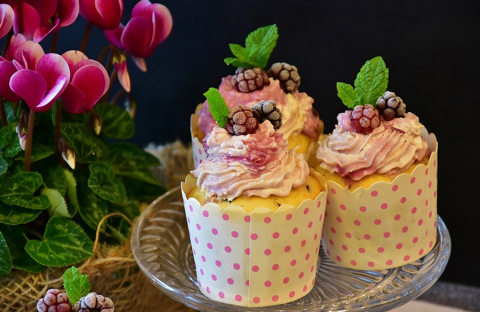 Mixed Berry Muffins with Mascarpone Recipe