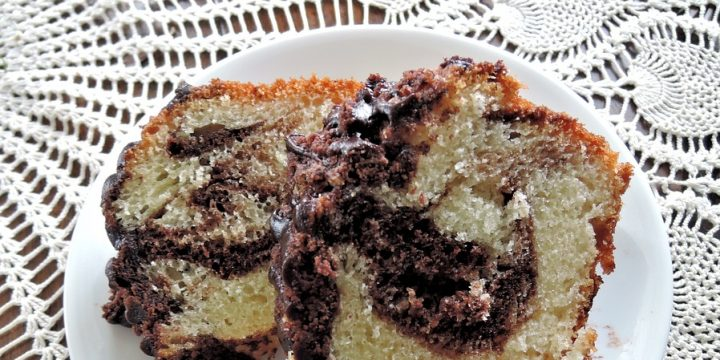 Chocolate and Peanut Butter Marble Bundt Cake Recipe