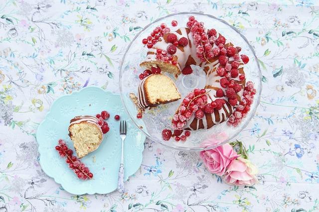 White Chocolate Raspberry Bundt Cake Recipe