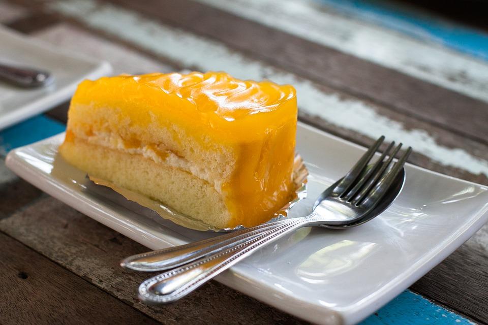 Mango Cream Cake Recipe