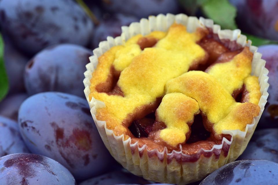 Plum Cupcake Recipe