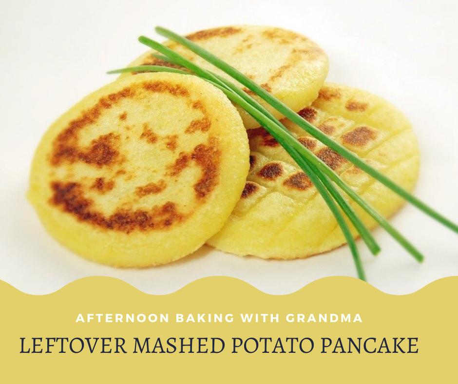 Leftover Mashed Potato Pancake Recipe